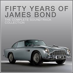 50 Years of James Bond Soundtrack (Various Artists) - CD cover
