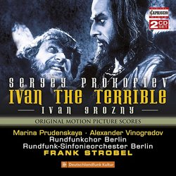 Ivan the Terrible Bande Originale (Sergei Prokofiev) - Pochettes de CD
