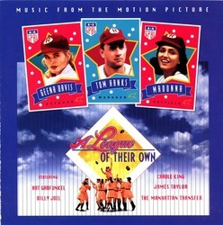 A League of Their Own Soundtrack (Various Artists, Hans Zimmer) - CD cover