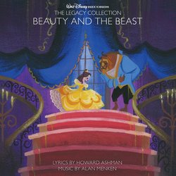 Beauty and the Beast Trilha sonora (Alan Menken) - capa de CD
