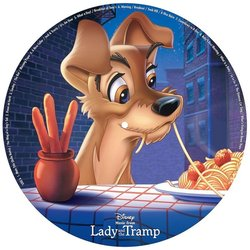 Lady and the Tramp 聲帶 (Oliver Wallace) - CD後蓋