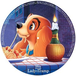 Lady and the Tramp 聲帶 (Oliver Wallace) - CD封面