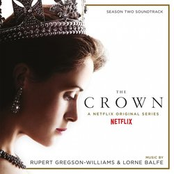 The Crown: Season Two 声带 (Lorne Balfe, Rupert Gregson-Williams) - CD封面