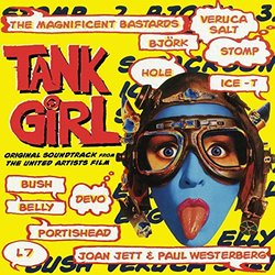 Tank Girl Soundtrack (Various Artists) - CD cover
