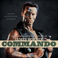 Commando Soundtrack (James Horner) - Carátula