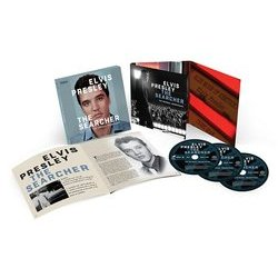 Elvis Presley: The Searcher Soundtrack (Various Artists, Elvis Presley) - cd-inlay
