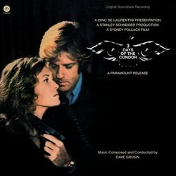 3 Days of the Condor Soundtrack (Dave Grusin) - CD cover