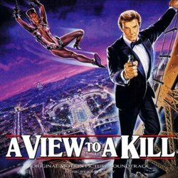 A View to a Kill Soundtrack (John Barry) - CD-Cover