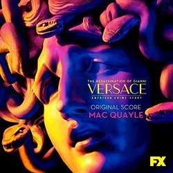 The Assassination of Gianni Versace: American Crime Story Soundtrack (Mac Quayle) - CD cover