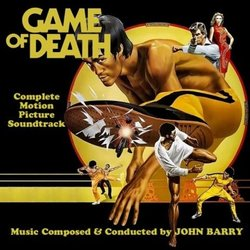 Game of Death Soundtrack (John Barry) - CD cover