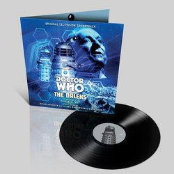 Doctor Who: The Daleks Soundtrack (Tristram Cary) - cd-inlay