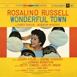 Wonderful Town Soundtrack (Leonard Bernstein, Betty Comden, Adolph Green) - CD cover