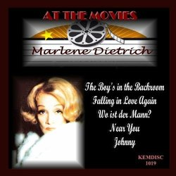 At the Movies: Marlene Dietrich Soundtrack (Various Artists, Marlene Dietrich) - CD cover