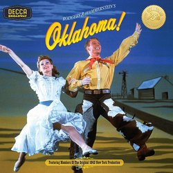 Oklahoma! Soundtrack (Oscar Hammerstein, Richard Rodgers) - CD cover