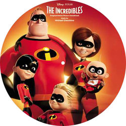 The Incredibles Soundtrack (Michael Giacchino) - CD Back cover