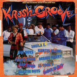 Krush Groove Soundtrack (Various Artists) - CD cover