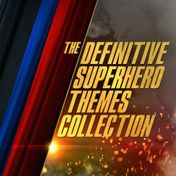 The Definitive Superhero Themes Collection Soundtrack (Various Artists) - CD cover