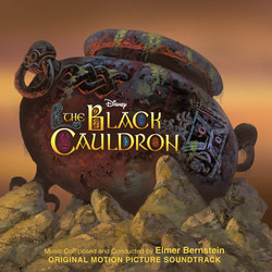 The Black Cauldron Soundtrack (Elmer Bernstein) - CD cover