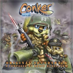 Conker: Live and Reloaded Soundtrack (Robin Beanland) - CD cover