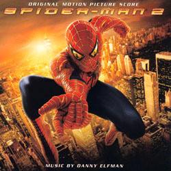 Spider-Man 2 Soundtrack (Danny Elfman) - CD cover