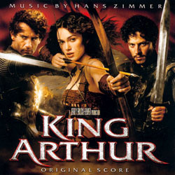 King Arthur Soundtrack (Hans Zimmer) - CD cover