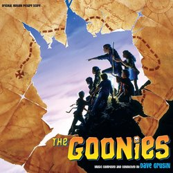 The Goonies Trilha sonora (Dave Grusin) - capa de CD