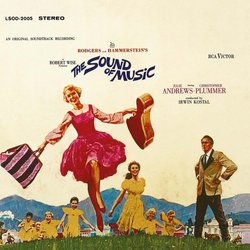 The Sound of Music Soundtrack (Irwin Kostal) - CD cover