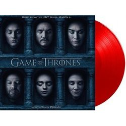 Game Of Thrones: Season 6 Soundtrack (Ramin Djawadi) - cd-inlay
