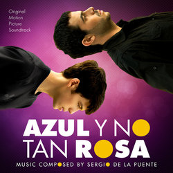 Azul y no tan rosa Soundtrack (Sergio de la Puente) - CD cover
