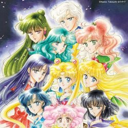 Sailor Moon: The 25Th Anniversary Memorial Tribute Soundtrack (Various Artists) - CD cover
