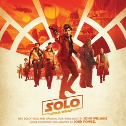 Solo: A Star Wars Story Soundtrack (John Powell) - CD cover