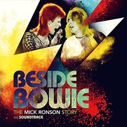 Beside Bowie: The Mick Ronson Story Soundtrack (Various Artists, David Bowie) - CD cover