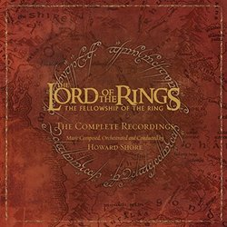 The Lord Of The Rings: The Fellowship Of The Ring Colonna sonora (Howard Shore) - Copertina del CD