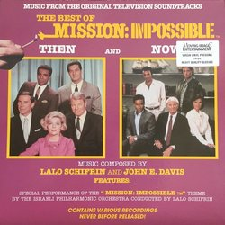 The Best Of Mission: Impossible Soundtrack (John E. Davis, Lalo Schifrin) - CD cover