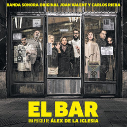 El Bar Soundtrack (Carlos Riera, Joan Valent) - CD cover