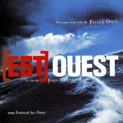 [Est] Ouest Soundtrack  (Patrick Doyle) - CD cover