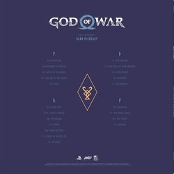 God of War Soundtrack (Bear McCreary) - CD Trasero