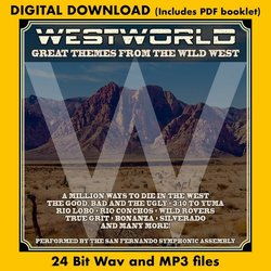 Westworld: Great Themes From The Wild West - Various Artists - 27/04/2018