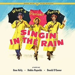 Singin In The Rain Soundtrack (Nacio Herb Brown, Arthur Freed) - CD cover