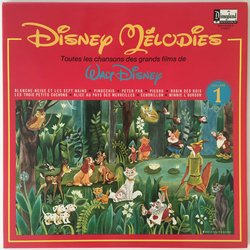 Disney Mélodies Soundtrack (Various Composers) - CD cover