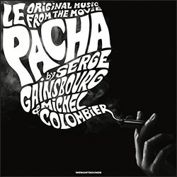 Le Pacha Soundtrack (Michel Colombier, Serge Gainsbourg) - Carátula