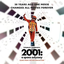 2001: A Space Odyssey Soundtrack (Various Artists) - CD cover