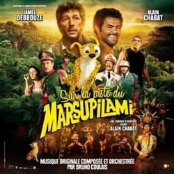 Sur la piste du Marsupilami Soundtrack (Bruno Coulais) - CD cover