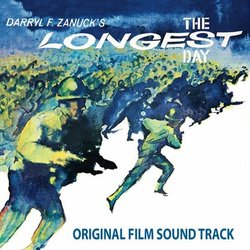 The Longest Day Soundtrack (Maurice Jarre) - Carátula