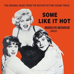 Some Like It Hot Soundtrack (Adolph Deutsch) - CD cover