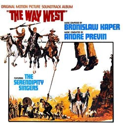 The Way West Soundtrack (Bronislaw Kaper) - CD cover