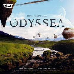 Odyssea Soundtrack (Philippe Briand, Gabriel Saban) - CD cover