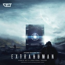 Extrahuman Soundtrack (Philippe Briand, Gabriel Saban) - CD cover