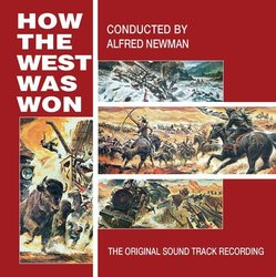 How The West Was Won Bande Originale (Alfred Newman) - Pochettes de CD