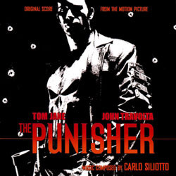 The Punisher Soundtrack (Carlo Siliotto) - CD cover